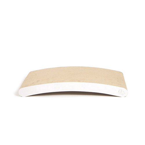 4CLAWS BASICS Curve Scratching Pad